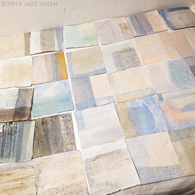 02-100-squares-paintings-in-progress-art-studio-2016