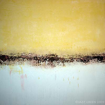 abstract painting - adding and reworking textures