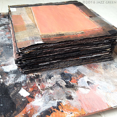 06-100-squares-paintings-in-progress-art-studio-2016