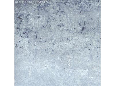abstract textured painting on panel, ice blue surface - edgescape 26 blue, by jazz green artist