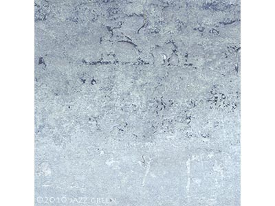 abstract winter painting, textured, weathered surface - edgescape 26 by jazz green artist
