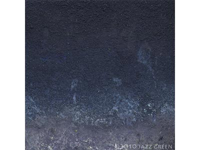 blue textured abstract painting, weathered eroded textures, winter - edgescape 26 by jazz green artist