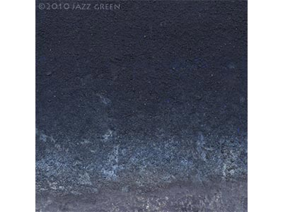 abstract painting decay eroded surface textures, blue ash grey - edgescape 26 by jazz green artist