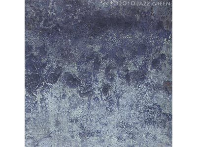 abstract painting, winter weathered textures - frost ice, stone, white, light blue - edgescape 29 by jazz green artist
