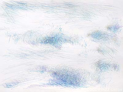 clouds - drawings - sketchbook