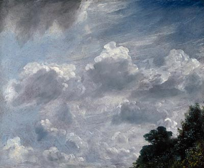 constable, cloud study, hampstead, c1821, royal academy, london
