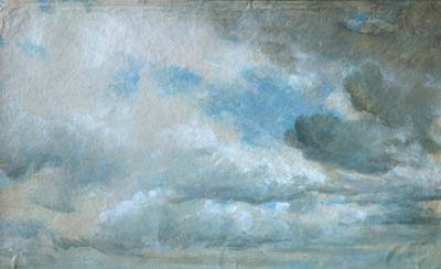 constable - study of clouds - victoria and albert museum, london