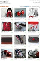 etsy treasury - red
