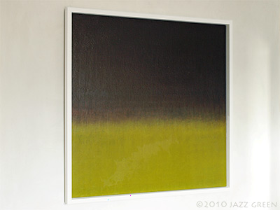 abstract fen painting, east anglia, the fens