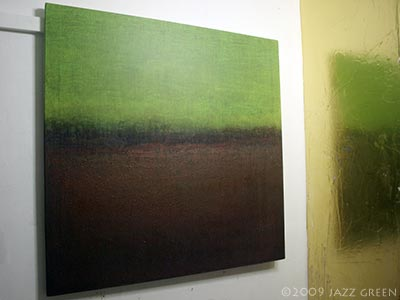 abstract painting - fenlands