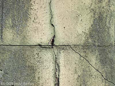 cracks on wall - abstract painting