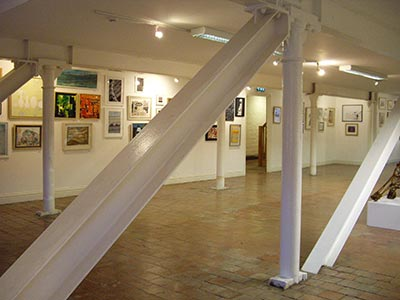 art exhibition, the cut gallery, halesworth suffolk