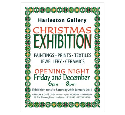 harleston gallery, christmas art exhibition