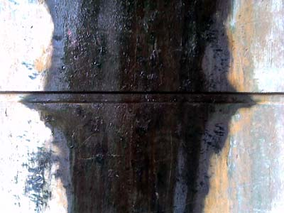 found painting - abstract photograph