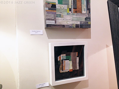 jazz-green-framed-mixed-media-collage-world-of-interiors-cork-brick-gallery-2016