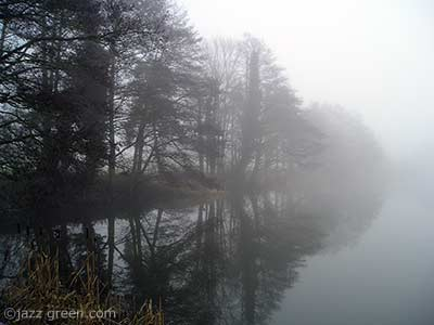 mist over water, january 2009