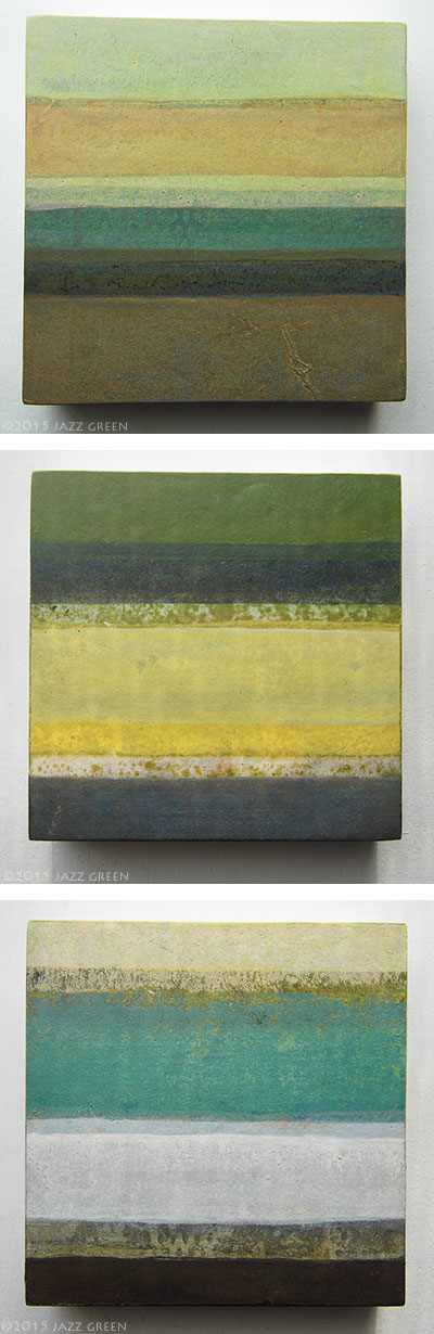 modern-rustic-green-grey-yellow-stripes-paintings-3