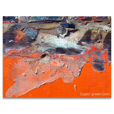 found paintings - abstract fine art photography