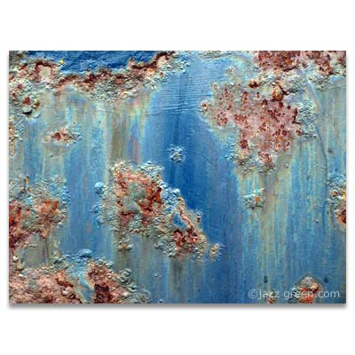 abstract found painting