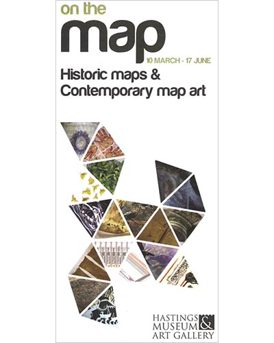 on the map - art exhibition - hastings museum and art gallery