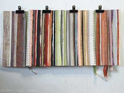 painting stripes - masking tape