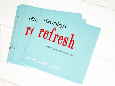 reunion gallery - exhibition catalogue