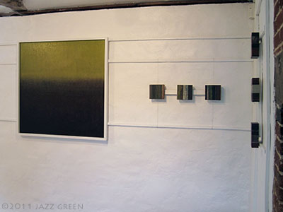 six abstract painters exhibition - halesworth art gallery