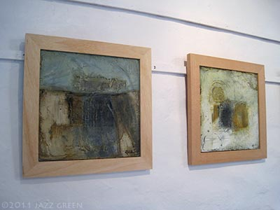 halesworth gallery, suffolk - exhibition - six abstract painters