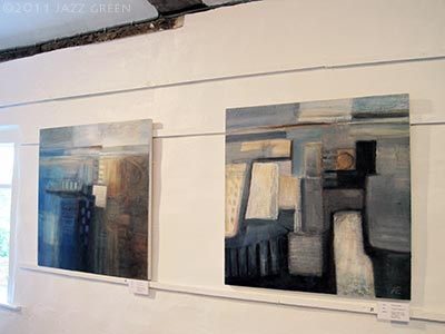 six abstract painters - exhibition - halesworth