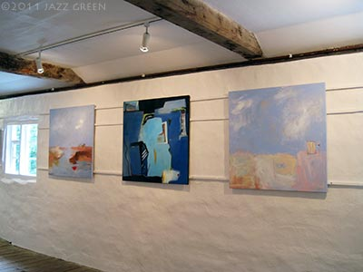 halesworth gallery - six abstract painters - an exhibition