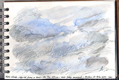 sketchbook - sketches of clouds and sky