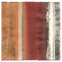 textured stripes abstract - red orange white grey