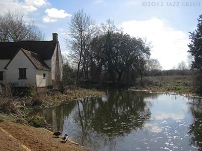 willy lotts cottage, dedham, constable country