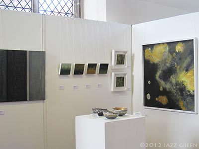 wymondham arts centre - seven ways exhibition - jazz green