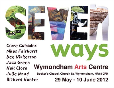 wymondham arts centre - seven ways exhibition