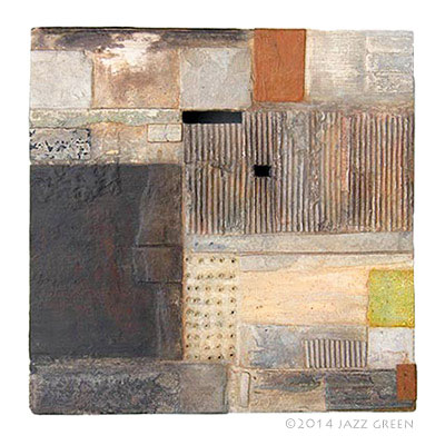 painting-2014-to-broken-things abstract art collage